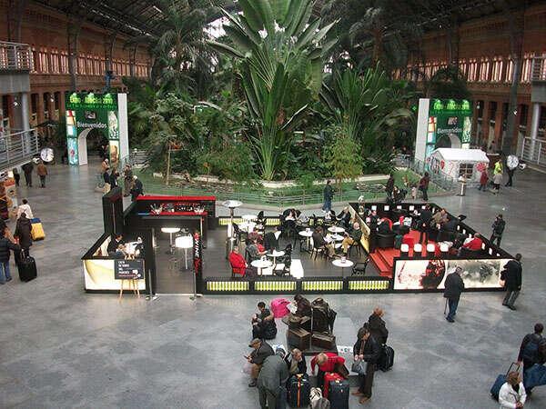 Wine Plaza, Stazione di Madrid Atocha