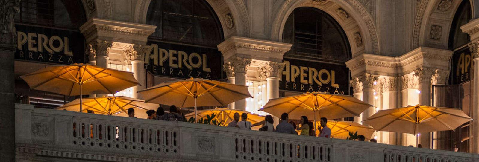 Terrazza Aperol: vista sul Duomo di Milano | Autogrill
