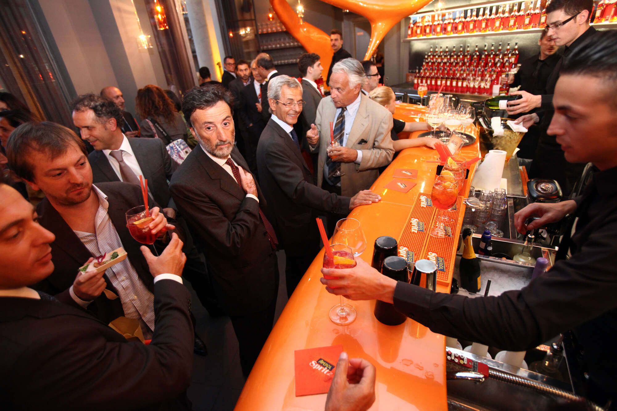 Terrazza Aperol Opening Party Autogrill